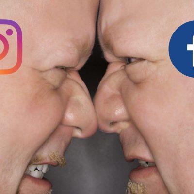 אינסטגרם מול פייסבוק: ראש בראש
