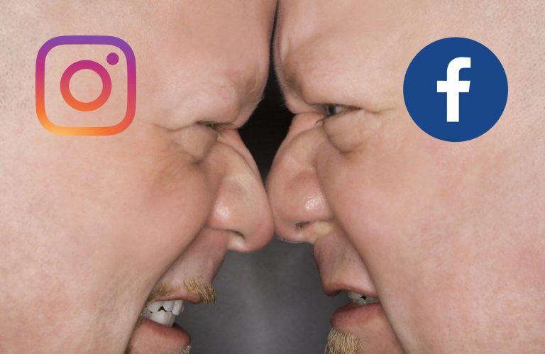 דיגיטל בוסט אינסטגרם מול פייסבוק